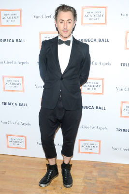 alan cumming in Brooke Shields Continues To Be Hottest Woman Ever At Last Night's Tribeca Ball