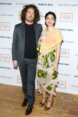 jonah freeman in Brooke Shields Continues To Be Hottest Woman Ever At Last Night's Tribeca Ball