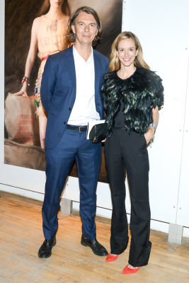 sean macpherson in Brooke Shields Continues To Be Hottest Woman Ever At Last Night's Tribeca Ball