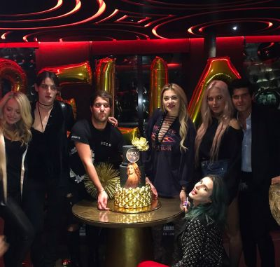 andrew warren in Tiffany Trump Parties The Night Away Hard With Fellow Rich Kids
