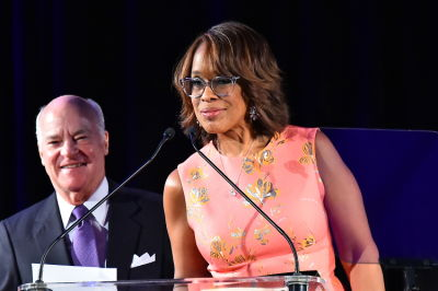 gayle king in SEO 2017 Annual Awards Dinner