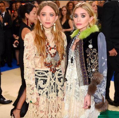 ashley olsen in The Met Gala's Most Gorgeous Couples