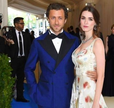 bee shaffer in The Met Gala's Most Gorgeous Couples