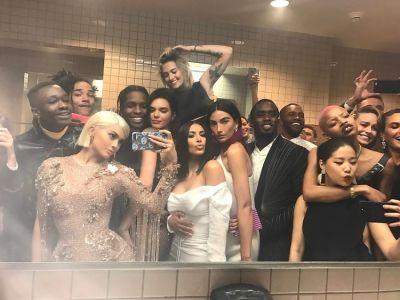 Kylie Jenner, ASAP Rocky, Kendall Jenner, Kim Kardashian, Lily Aldridge, P. Diddy, Frank Ocean