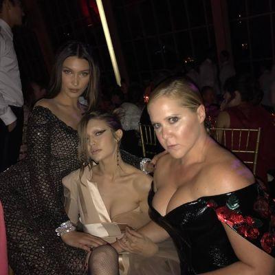 Bella Hadid, Gigi Hadid, Amy Schumer