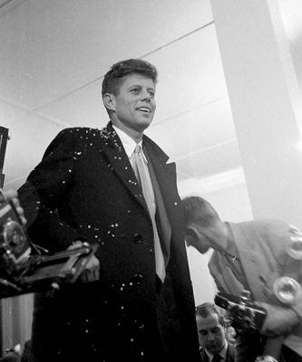 john f-kennedy in Behold, The Charming Young Kennedy We've All Been Waiting For