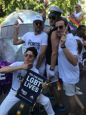 joey zauzig in Scenes From D.C. Pride Weekend 2017