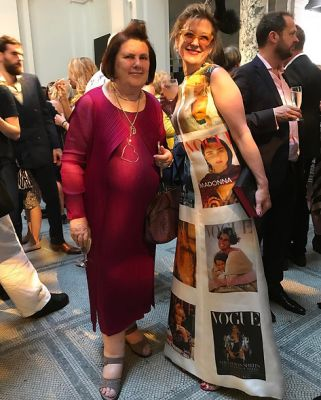 suzy menkes in Brits Sure Know How To Throw A Garden Party