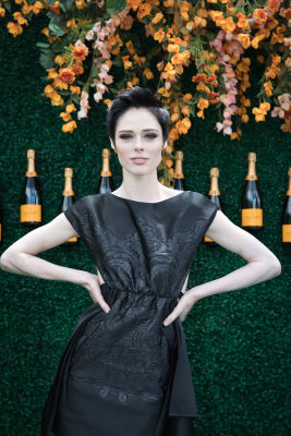 coco rocha in Best Dressed Guests: Veuve Clicquot Polo Classic 2017
