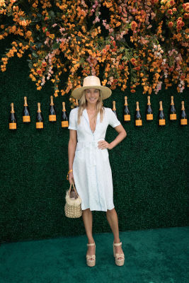 jessica hart in Best Dressed Guests: Veuve Clicquot Polo Classic 2017