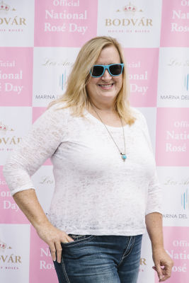 joy kennelly in National Rosé Day with BODVÁR