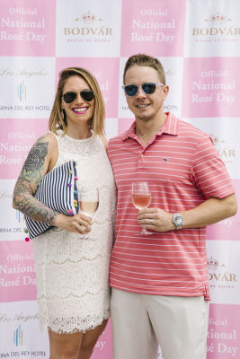 whitney hoop in National Rosé Day with BODVÁR
