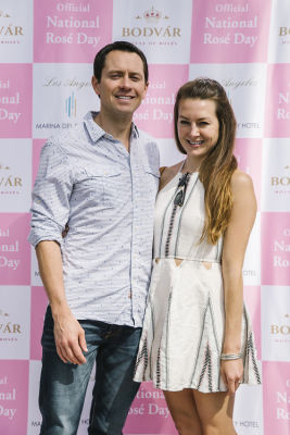 carly drake in National Rosé Day with BODVÁR
