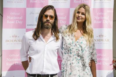 tom payne in National Rosé Day with BODVÁR