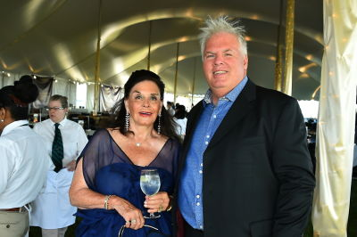 """judith reid-tom-diffley in East End Hospice Annual Summer Party, """"An Evening in Paris"""""""