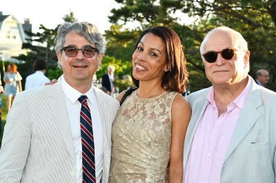 "maya browne in East End Hospice Annual Summer Party, ""An Evening in Paris"""