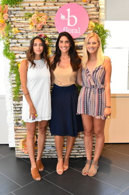 alyssa marchino in B Floral Summer Press Event at Saks Fifth Avenue's The Wellery