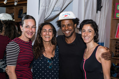 leslie tcheyan in Cynthia Rowley and Lingua Franca Celebrate Three Generations of Surfer Girls