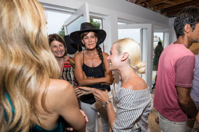julie gilhart in Cynthia Rowley and Lingua Franca Celebrate Three Generations of Surfer Girls