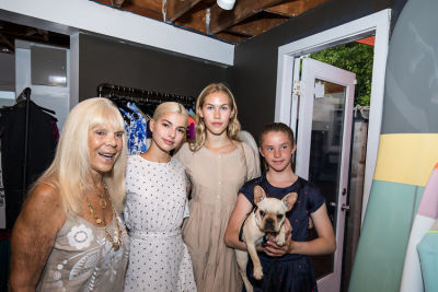 gigi powers in Cynthia Rowley and Lingua Franca Celebrate Three Generations of Surfer Girls