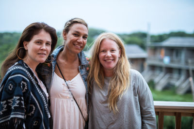 julie rice in Cynthia Rowley and Lingua Franca Celebrate Three Generations of Surfer Girls