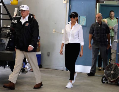 What Poor Assistant Had To Give Their Shoes To Melania?