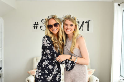 christy doramus in Crowns by Christy x Nine West Hamptons Luncheon