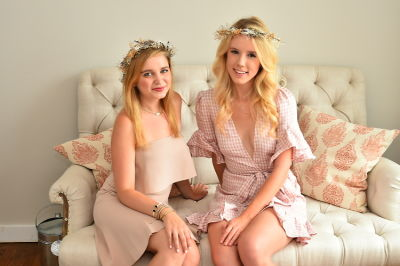 emily byrski in Crowns by Christy x Nine West Hamptons Luncheon