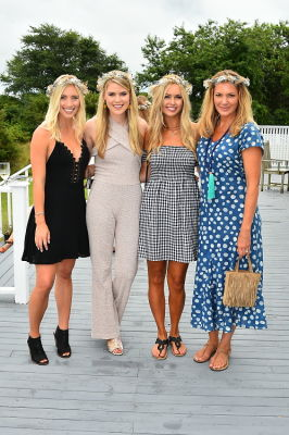 sara blom in Crowns by Christy x Nine West Hamptons Luncheon