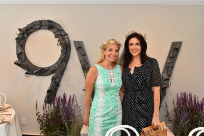 alyssa ponticello in Crowns by Christy x Nine West Hamptons Luncheon