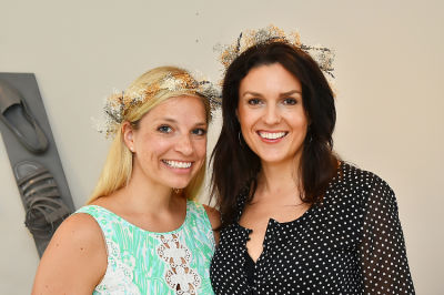 maggie tate in Crowns by Christy x Nine West Hamptons Luncheon