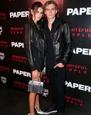 presley gerber in Cindy Crawford's Kids Take Over Fashion Week