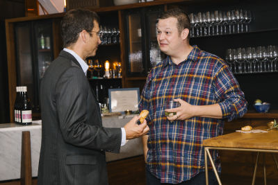 aaron batalion in Maven Intimate Dinner Hosted by Peter B. Kosak, GM's Executive Director of Urban Mobility