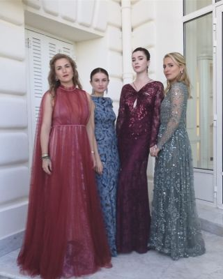 chloe malle in Science & Socialites: Inside CNN Reporter Rachel Crane's French Riviera Wedding