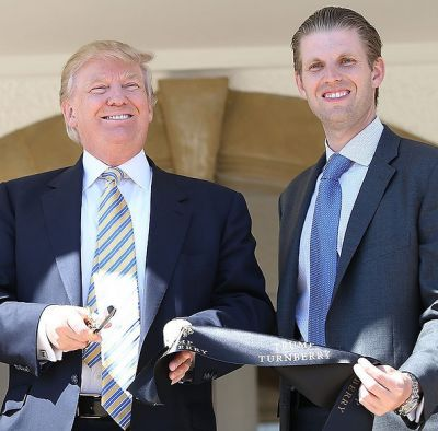 eric trump in Every Member Of The Trump Family Ranked, By Instagram Following
