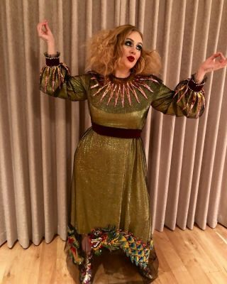 adele in The Best Celebrity Costumes From Halloweekend 2017
