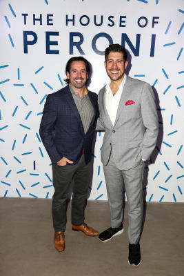 christopher t-gialanella in House of Peroni LA Opening Night