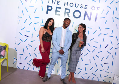 kate wang in House of Peroni LA Opening Night