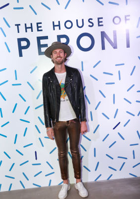 danny pratt in House of Peroni LA Opening Night