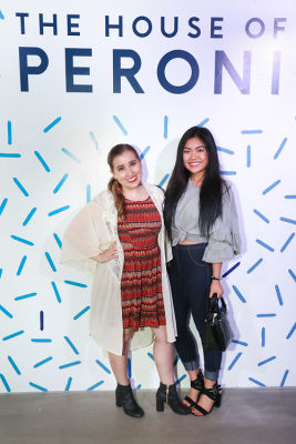 sasha shellock in House of Peroni LA Opening Night