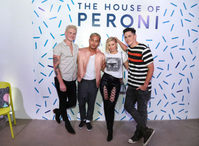 tom sandoval in House of Peroni LA Opening Night