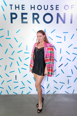millie brown in House of Peroni LA Opening Night