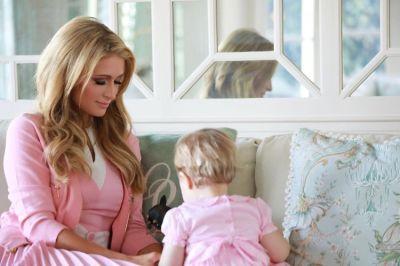 paris hilton in When Paris Hilton Throws A Baby Shower...