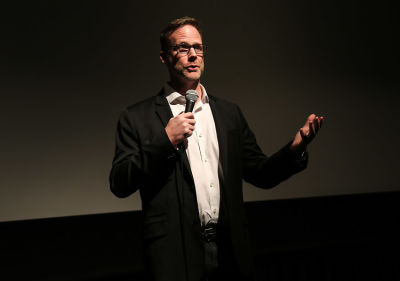 neil greathouse in  Global non-profit Beyond Type 1's Bike Beyond premiere at the Landmark Theater