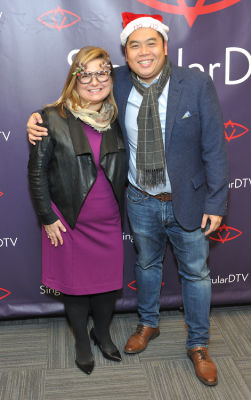 christine curella in SingularDTV Annual Holiday Party