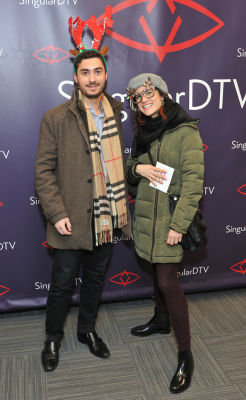 joe stornelli in SingularDTV Annual Holiday Party