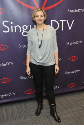 lyuba bakalova in SingularDTV Annual Holiday Party