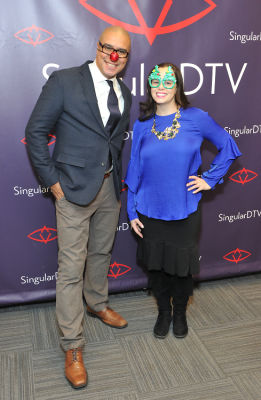 rodney e-lopez in SingularDTV Annual Holiday Party