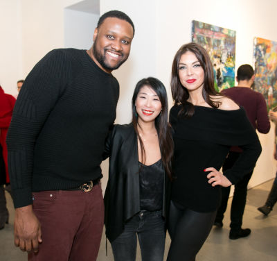 kelly omara in Former Tennis Pro Ted Dimond's Gallery Opening of