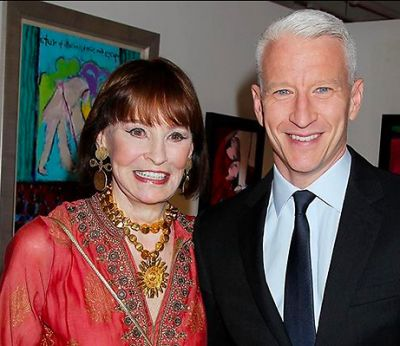 anderson cooper in The Chicest Women In New York